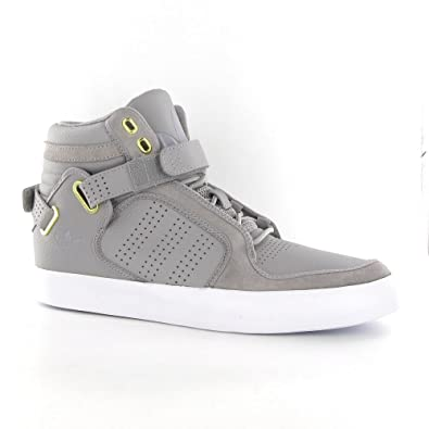 Adidas Adi Rise Mid Grey Leather Mens Trainers Size 11 UK  Amazon.co.uk   Shoes   Bags b02381dcb