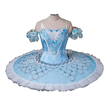 2b8dfd103 Professional classical Ballet Pancake Tutu Dress in Blue, Green, Pink and  Plum. SALE