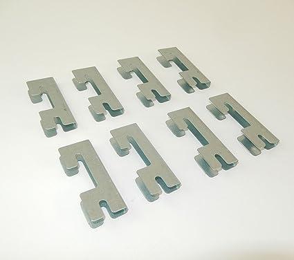 8 Conectores para estantería futtal y drutal.