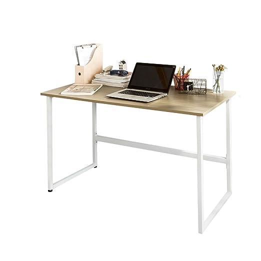 SoBuy® Mesa de Escritorio, Escritorio de Madera Mesa de Oficina ...