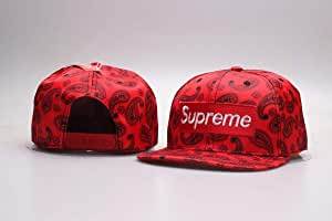 Larry 2019 New Spring/Summer Supreme Cap Hat Snapback: Amazon.es ...