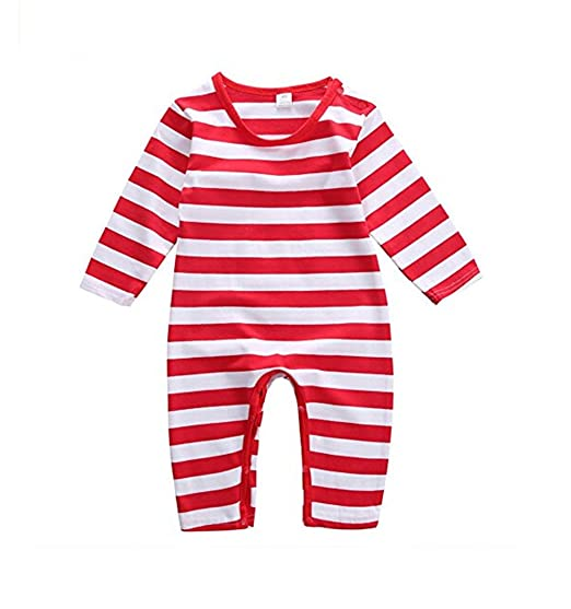 db8989dfaaf6 Amazon.com  hujukuludusu Newborn Baby Red and White Stripes ...