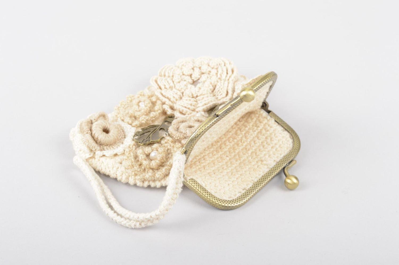 Monedero de mujer hecha a mano cartera mujer accesorios de ...