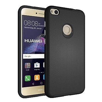 Funda Huawei P8 Lite 2017 - EDTUOSI Ultra Slim Fundas P8 Lite 2017 Smart Case -Negro