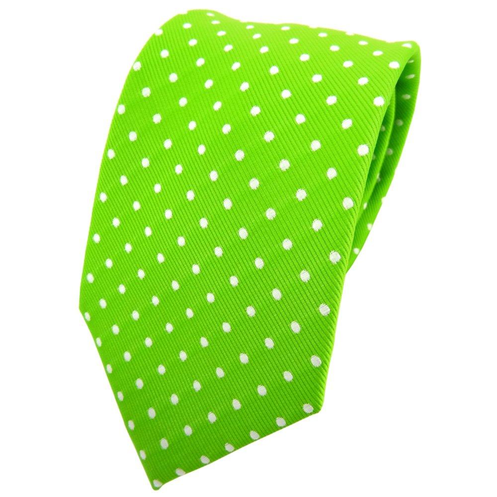 TigerTie - Corbata - verde verde fluorescente neón verde plata ...