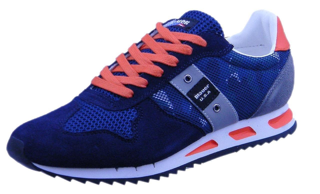 Blauer 8SMEMPHIS02 Zapatillas Bajas Hombre Azul En línea Obtenga la mejor oferta barata de descuento más grande