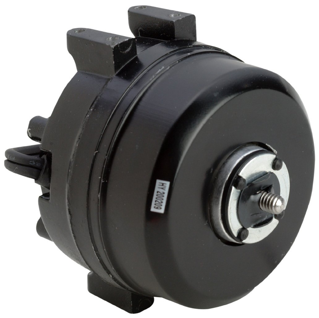 A.O. Smith Corporation 236 1550 RPM Unit Bearing Fan Motor, Aluminum, Shaded Pole, 3 Mounting Holes