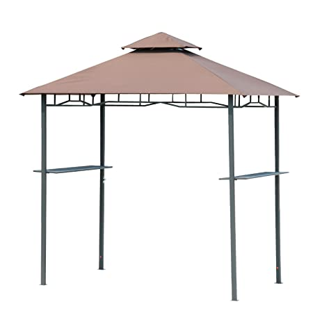 Outsunny Outdoor 2-Tier BBQ Grill Canopy Tent 8-Feet  sc 1 st  Amazon.com & Amazon.com : Outsunny Outdoor 2-Tier BBQ Grill Canopy Tent 8-Feet ...
