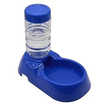 Sungpunet Cuenco automático para mascota, perro, gato, asiento de botella y dispensador de agua: Amazon.es: Hogar