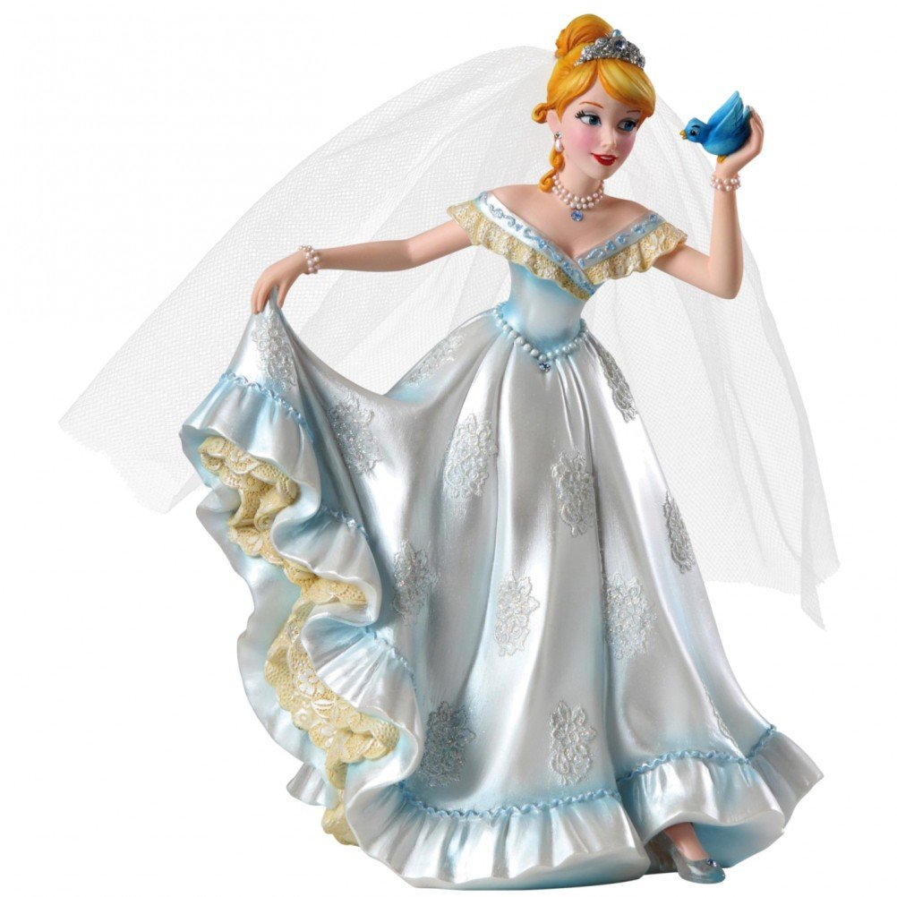 Disney Showcase Haute Couture Cenerentola wedding figurine