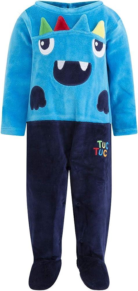 Tuc Tuc Pelele TUNDOSADO con PIES NI/ÑO Azul Stranger-Creatures
