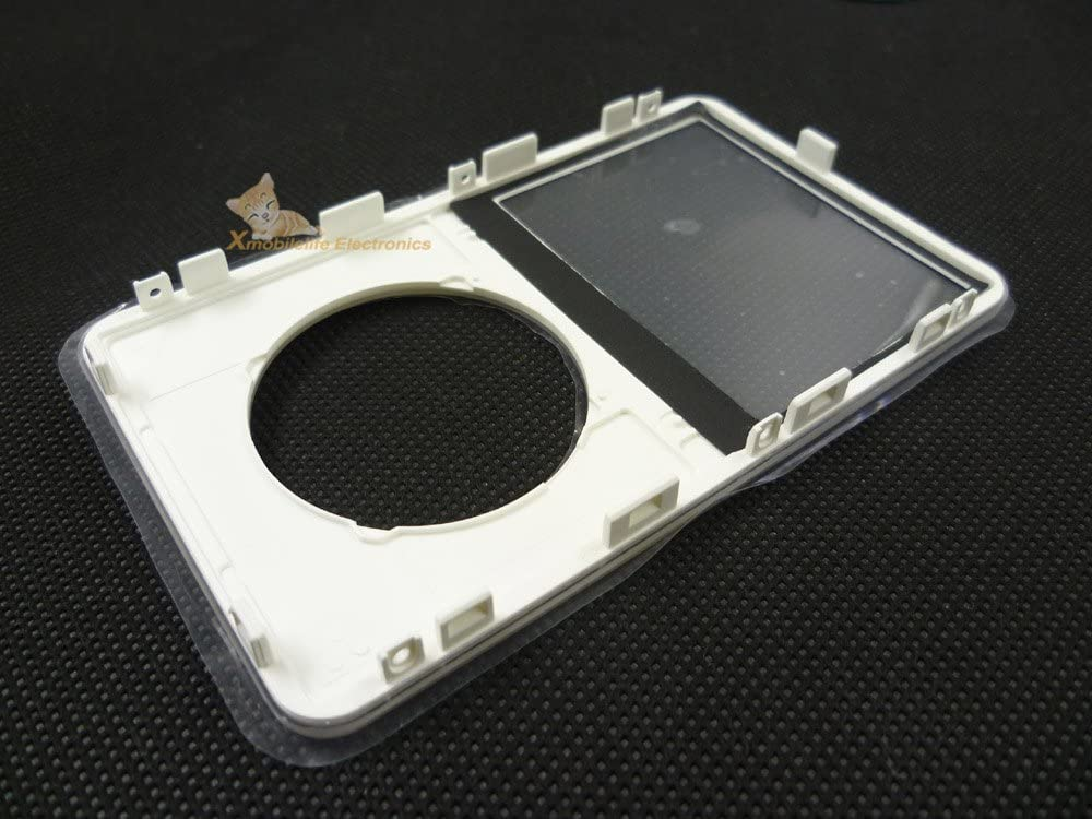 transparent clear front faceplate housing case cover for iPod 5th gen video 30gb