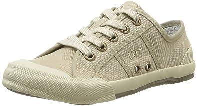 TBS Damen Sneaker, Braun - Braun (Ciment) - Größe: 40 EU