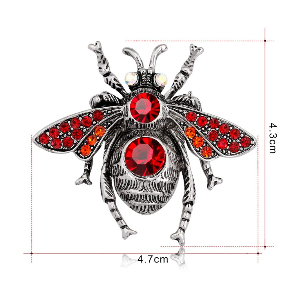 Ogquaton Filles Ailes Daraign/ée Insecte Forme Broche Broche V/êtements Ornement D/écor Bijoux Cadeau Durable et Utile
