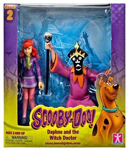 Scooby Doo, Series 2 Daphne and the Witch Doctor Action Figu