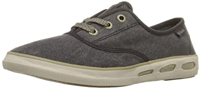 Columbia VULC N VENT LACE CANVAS, Damen Sneakers, Blau (Blue Heron, Candy Mint 407), 38 EU (5 Damen UK)