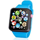 mymotto Contatta Toys Music Watch - Button Battery, Best Christmas/Halloween / Regalo di compleanno per bambini (Blu)