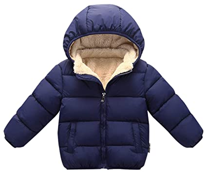 9193d32e5 Happy Cherry Toddler Down Jacket Removable Hooded Windproof Snow ...