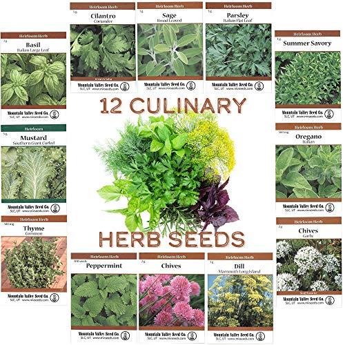 Plant an assortment of herbs