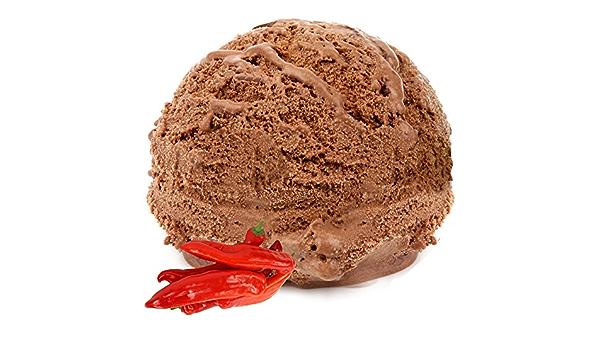 Sabor de chili y chocolate para helado de leche 1 Kg Helado de Gino Gelati Helado suave para su heladora