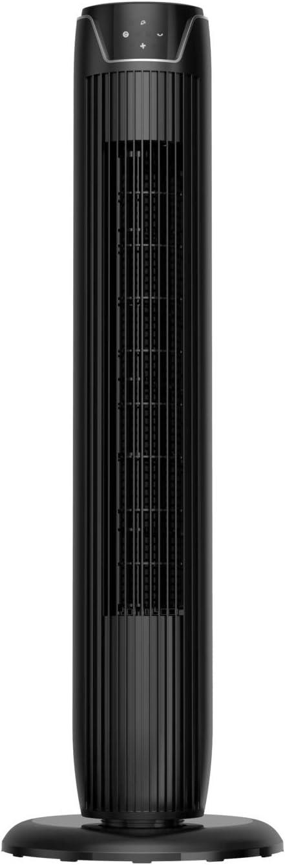 Midea FZ10-17JR - Ventilador de columna (45 W, 230 V, 30 x 30 x 91,8 cm), color negro