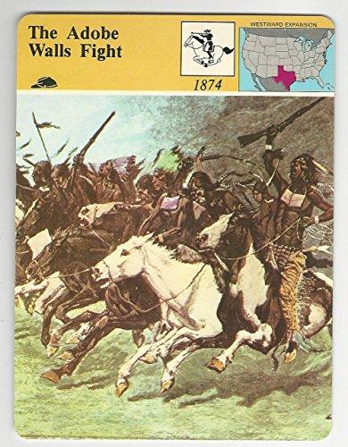 1979 Panarizon, Story Of America, 42.19 Adobe Walls Fight, Indians ()