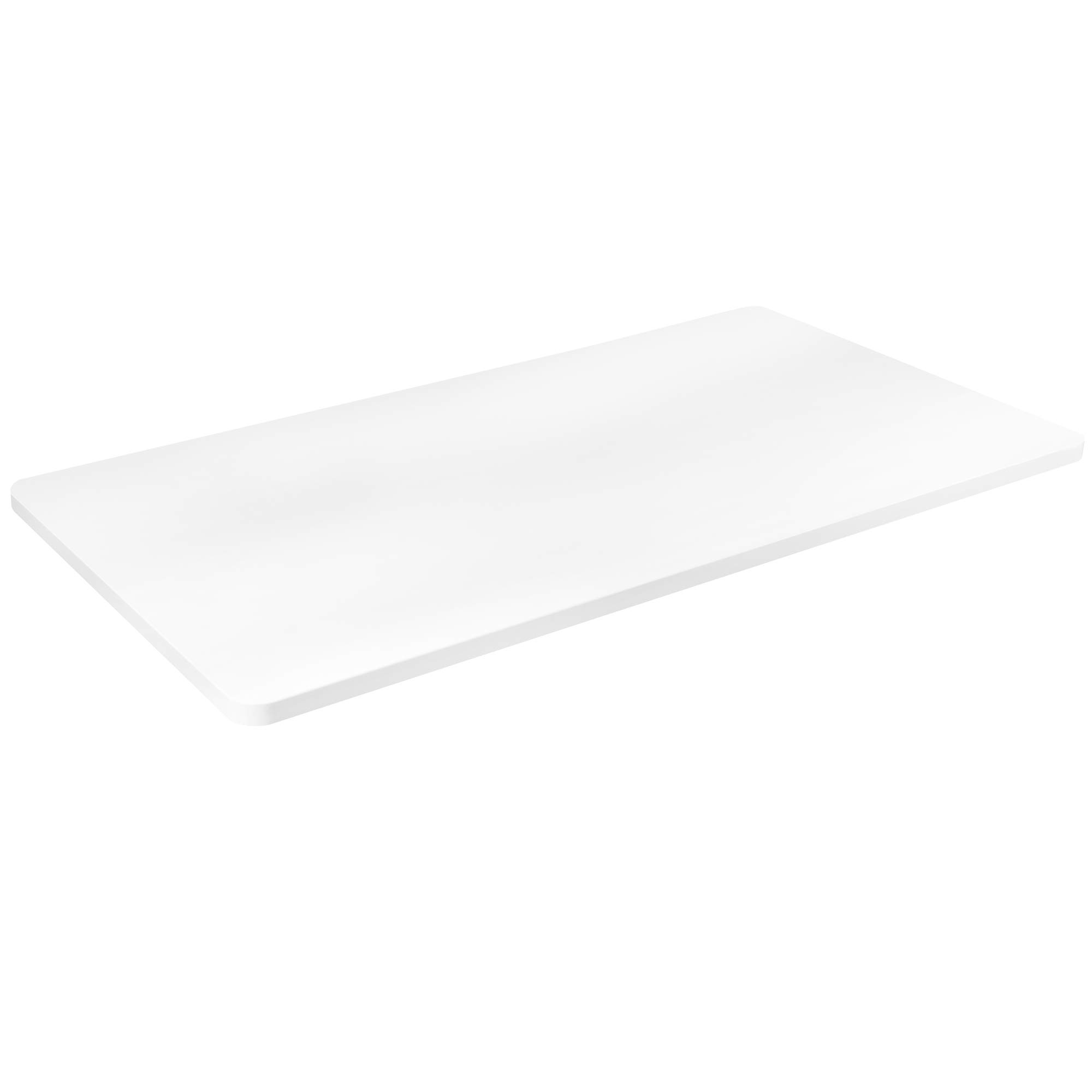 VIVO White 43 x 24 inch Universal Table Top for Standard and Sit to Stand Height Adjustable Home and Office Desk Frames (DESK-TOP43W) by VIVO