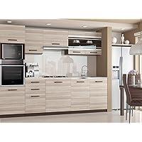 Muebles Cocina Completa,240 cms, Modulos de cocinas ref-09