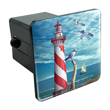 Graphics and More I Believe in Mermaids Tropical Beach Ocean Tow Trailer Hitch Cover Plug Insert