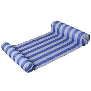 Yiwa Hamaca flotante inflable del agua,Silla cama creativa ...