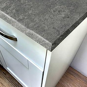 Beton grau Stein Laminat Küchen Arbeitsplatten mit passenden ...