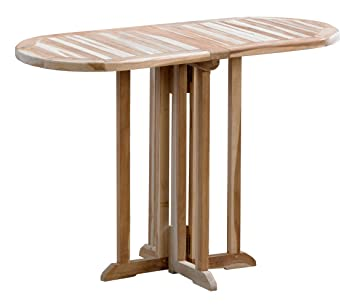 Amazon De Ambientehome Butterflytisch Oval 110 X 50 Cm Gartentisch