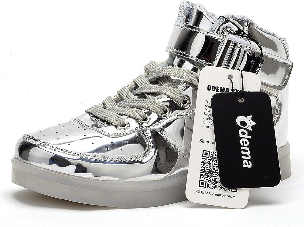 Unisex-Segeltuchschuhe Mario Hi-Top Light Sneakers Modische Schn/ürschuhe