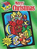 3-D Coloring Book--Merry Christmas (Dover 3-D Coloring Book)