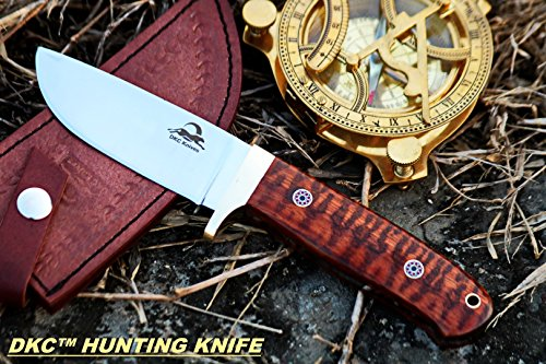 - Sale DKC-602-440c Tiger Jack Compact Stainless Steel Bowie Hunting Knife 8.5