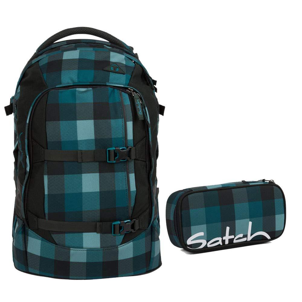 Satch Pack de 2 pièces Set avec boîte - bleu Bytes