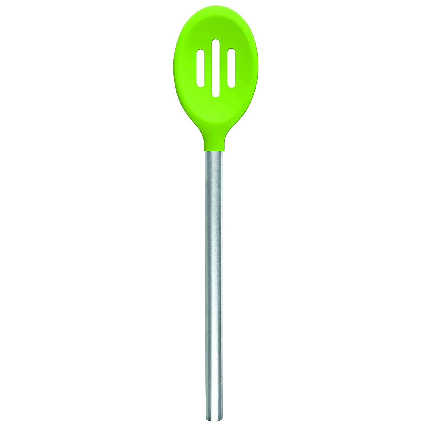 Amazon.com: Tovolo Silicone Slotted Spoon - Spring Green: Kitchen ...