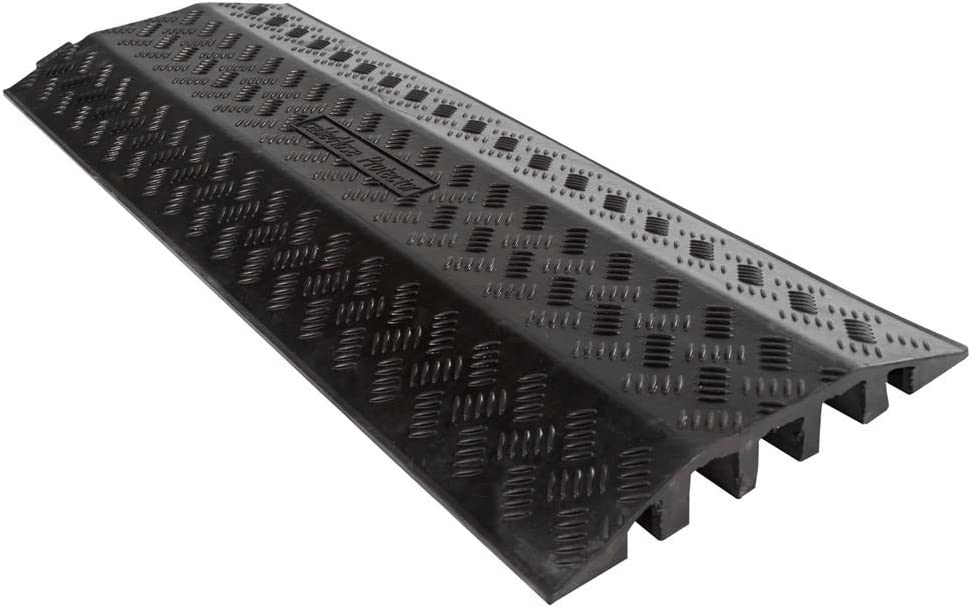 Rage Powersports 3-Channel Cable and Hose Protector Ramp