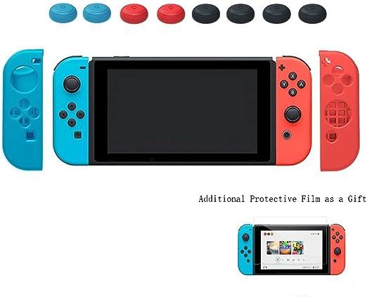 Yoofor Funda de silicona para Nintendo Switch, carcasa protectiva ...