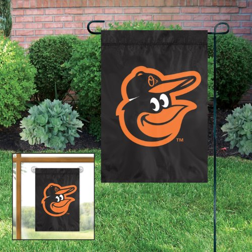 (Baltimore Orioles MLB Licensed Garden / Window Flag)