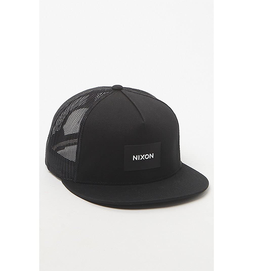 NIXON Team Trucker Hat - Black C2167 000