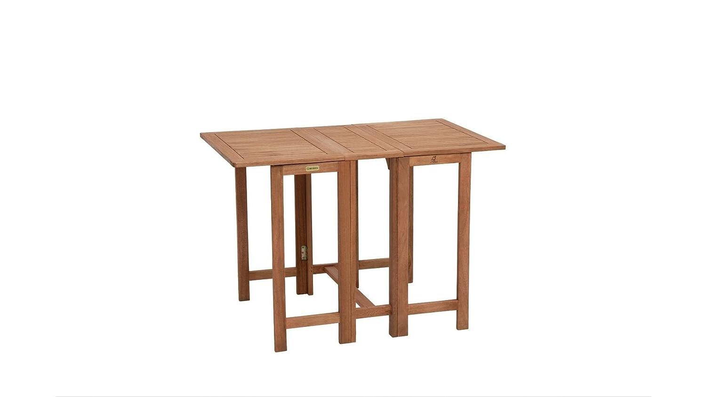 Baumarkt Direkt Gartentisch Holz Klappbar Eukalyptusholz 107x65