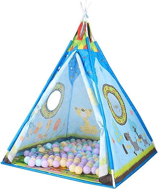 wadwo Tienda de campaña para niños | Tienda de campaña para niños y niñas | Kids Play Tents House Tepee Tent Uso al Aire Libre en Interiores: Amazon.es: Hogar