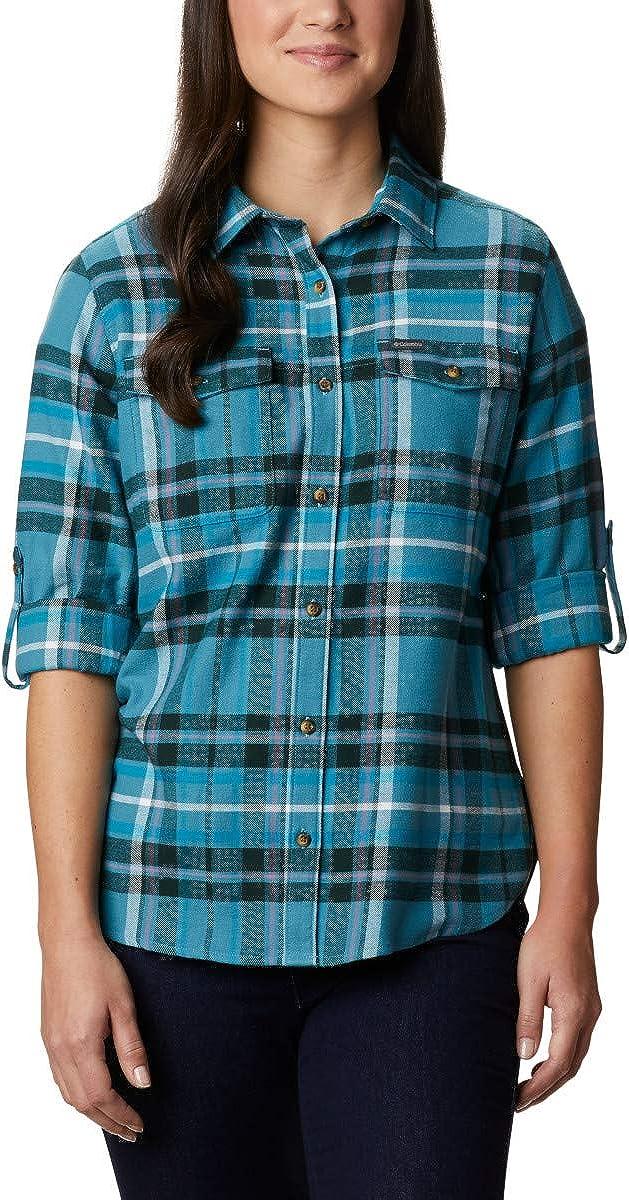 Columbia Womens Pine Street Stretch Flannel