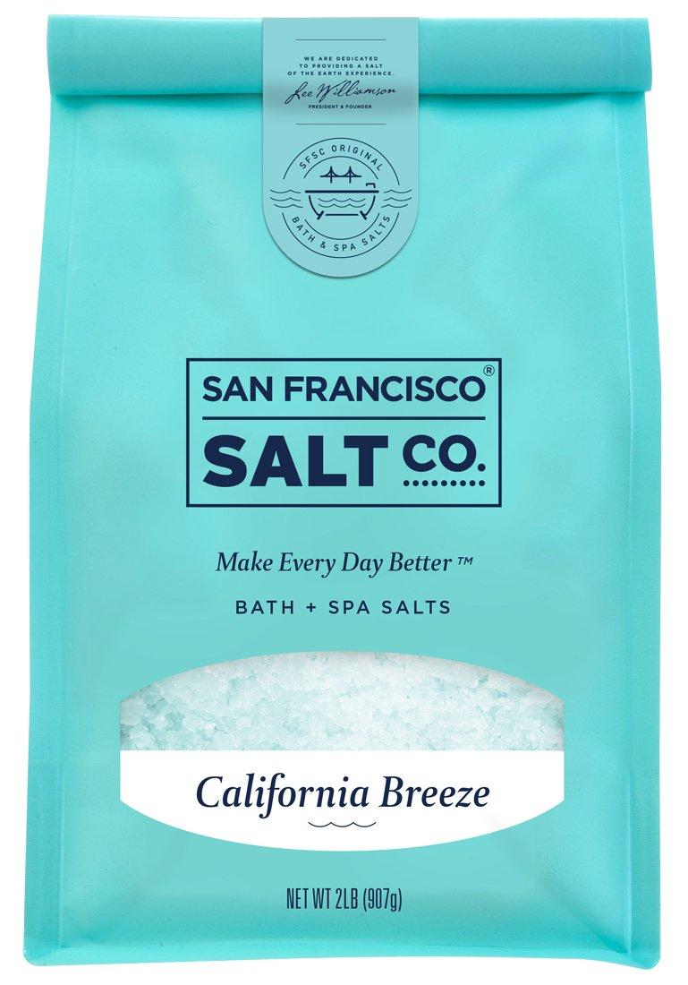 California Breeze Bath Salts 2 lb. Bag by San Francisco Salt Company