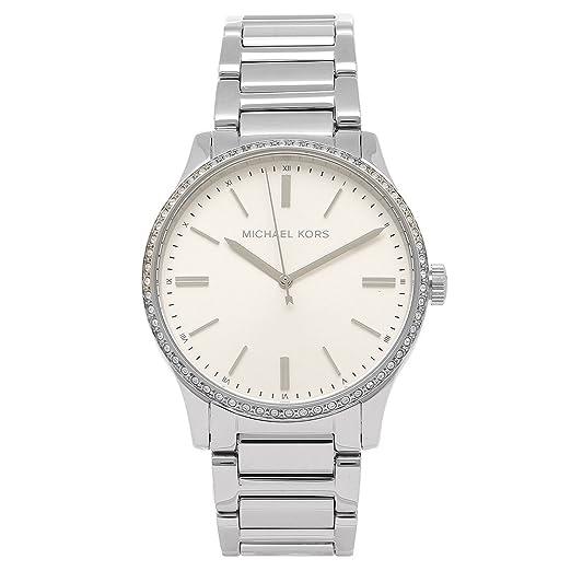 78be184e93b5 [マイケルコース] 腕時計 レディース MICHAEL KORS MK3807 シルバー [並行輸入品]