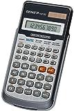 Genie 102 SC technisch-wissenschaftlicher Rechner (139 Funktionen, 10 stelliges Display, Inkl. Schutzdeckel) silber