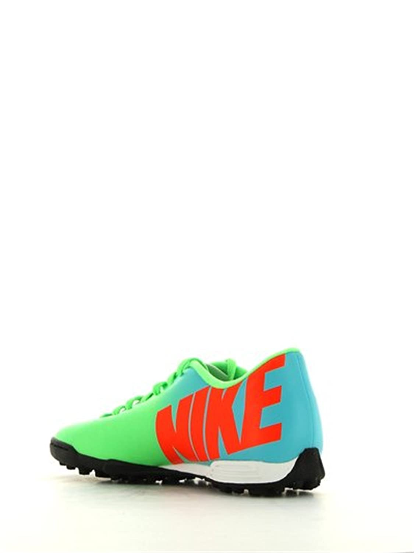 new style af285 93c80 Nike Mercurial Vortex TF Fussballschuhe neo lime-ttl crmsn-mtllc slvr-plrzd  blue - 40,5  Amazon.es  Deportes y aire libre