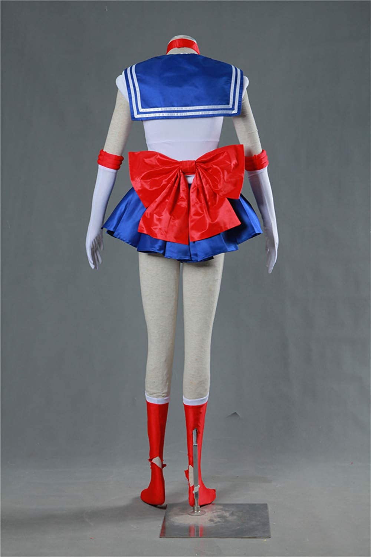 Sailor Moon Cosplay Costume Tsukino Usagi Abito Completo Set Completo Halloween Carnevale