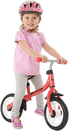 Avigo - Bicicleta de Aprendizaje 10 Pulgadas: Amazon.es: Juguetes y juegos